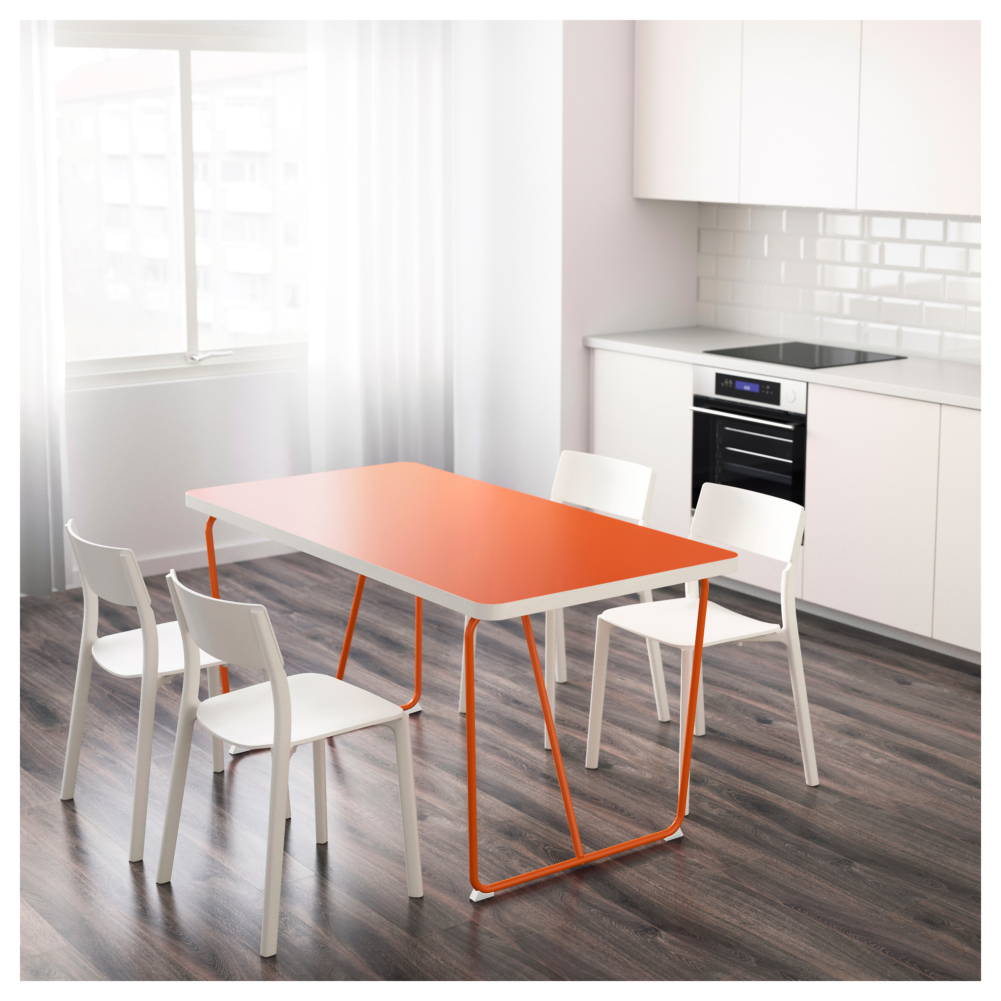 rydebäck table backaryd orange ikea