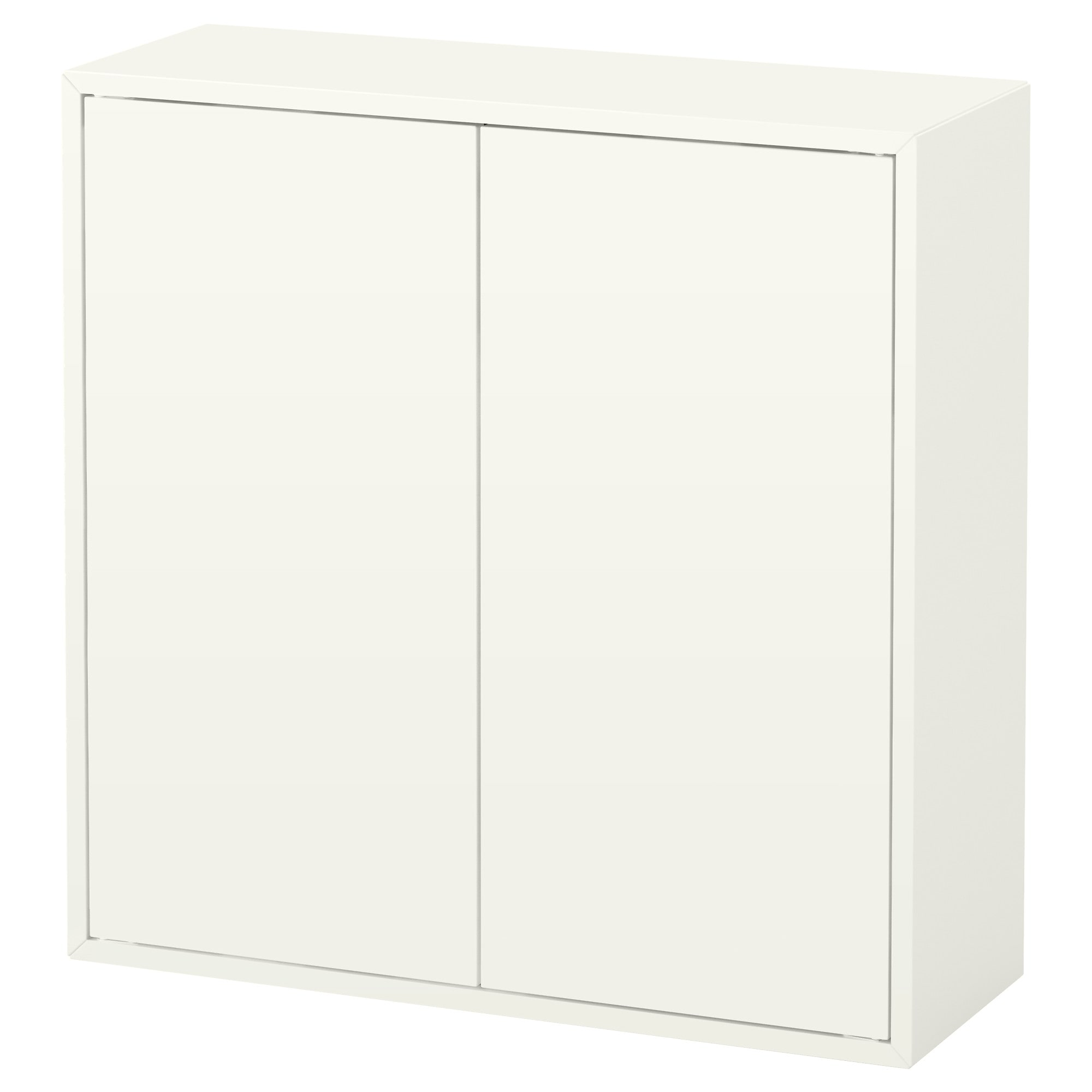 EKET Cabinet With 2 Doors And 2 Shelves, White Width: 27 1/2