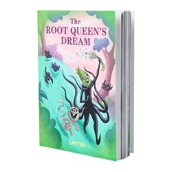 "LATTJO book, The Root Queen's Dream Pages: 96 pieces Width: 5 "" Height: 7 "" Pages: 96 pieces Width: 12.7 cm Height: 17.7 cm"