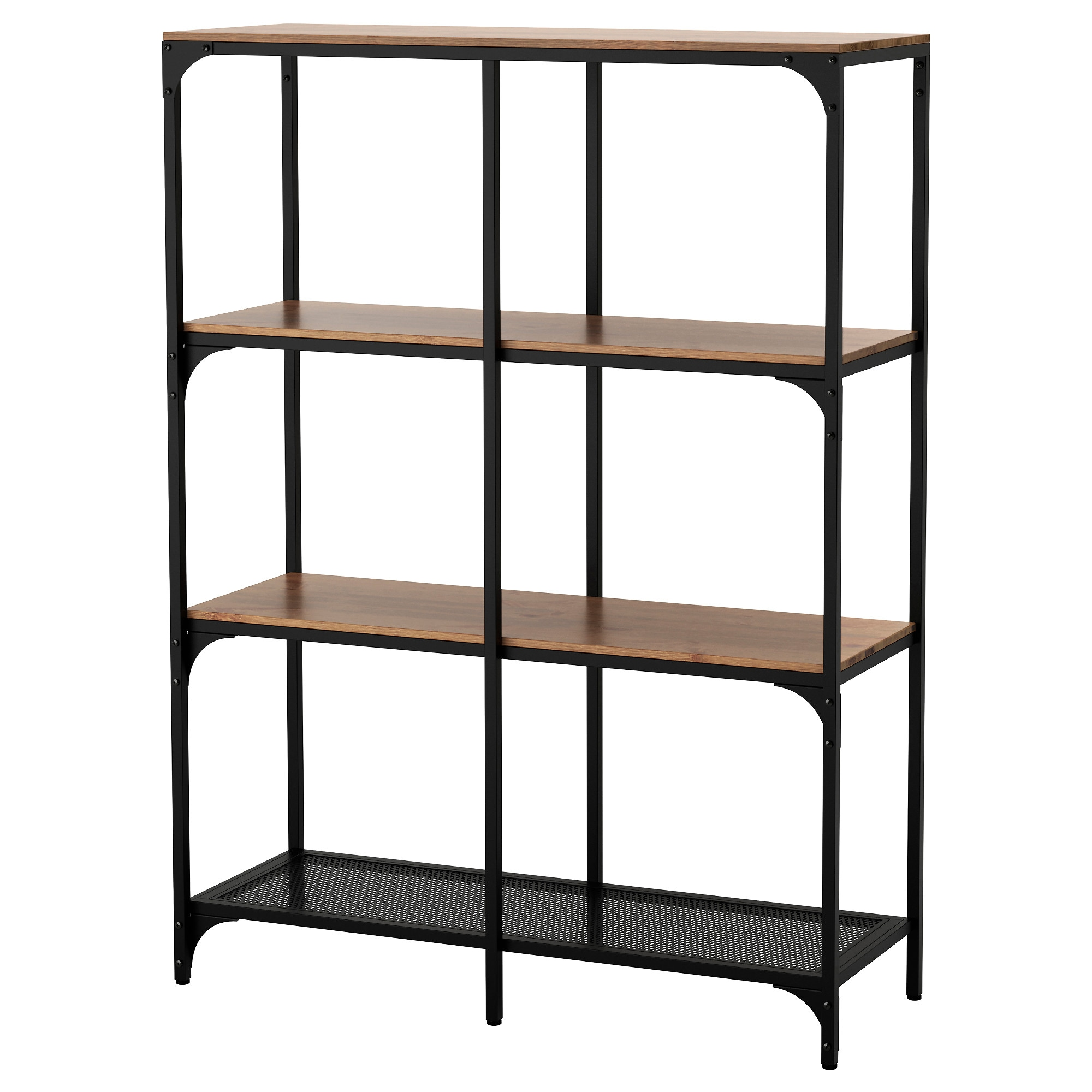 Fjallbo Shelf Unit Black