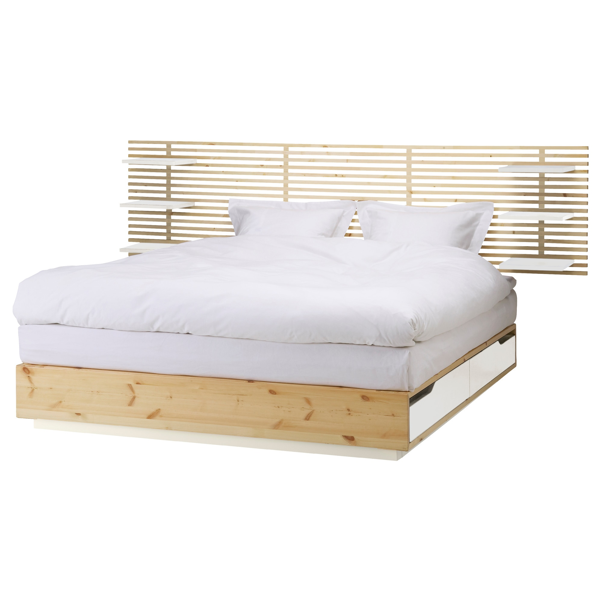MANDAL Bed frame with headboard 160x202 cm IKEA