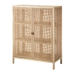 Stockholm 2017 Cabinet Rattan Ash Width 36 5 8 Depth Cabinets Sideboards Ikea Ikea Kitchen Storage