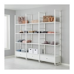 elvari system dein begehbarer kleiderschrank ikea. Black Bedroom Furniture Sets. Home Design Ideas