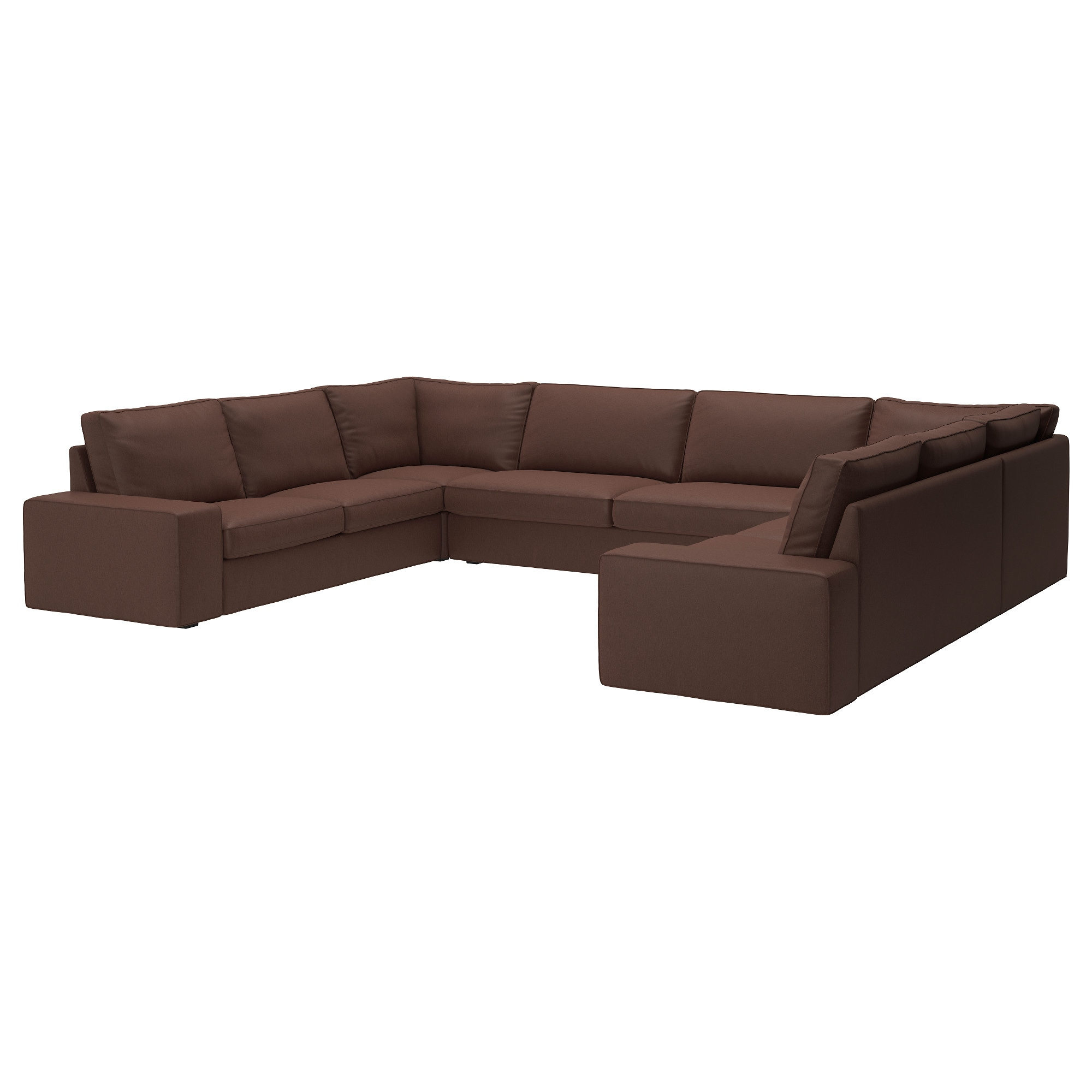 KIVIK U shaped sofa 7 seat Hillared beige IKEA