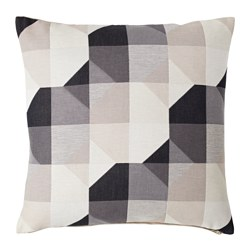 SVARTHÖ, Cushion cover, beige