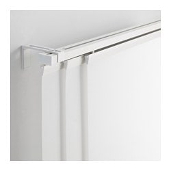VIDGA, Triple curtain rail, white