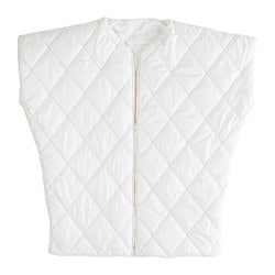 IKEA PS 2017 throw with zipper, white