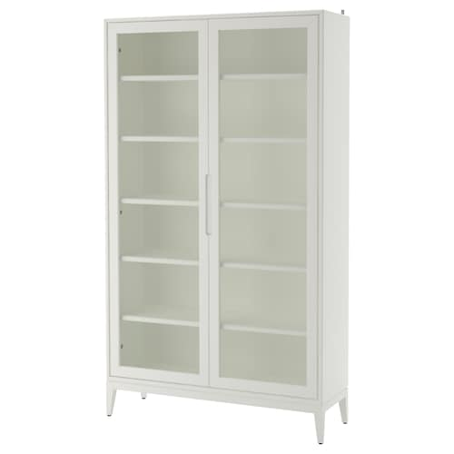 IKEA REGISSÖR Glass-door cabinet