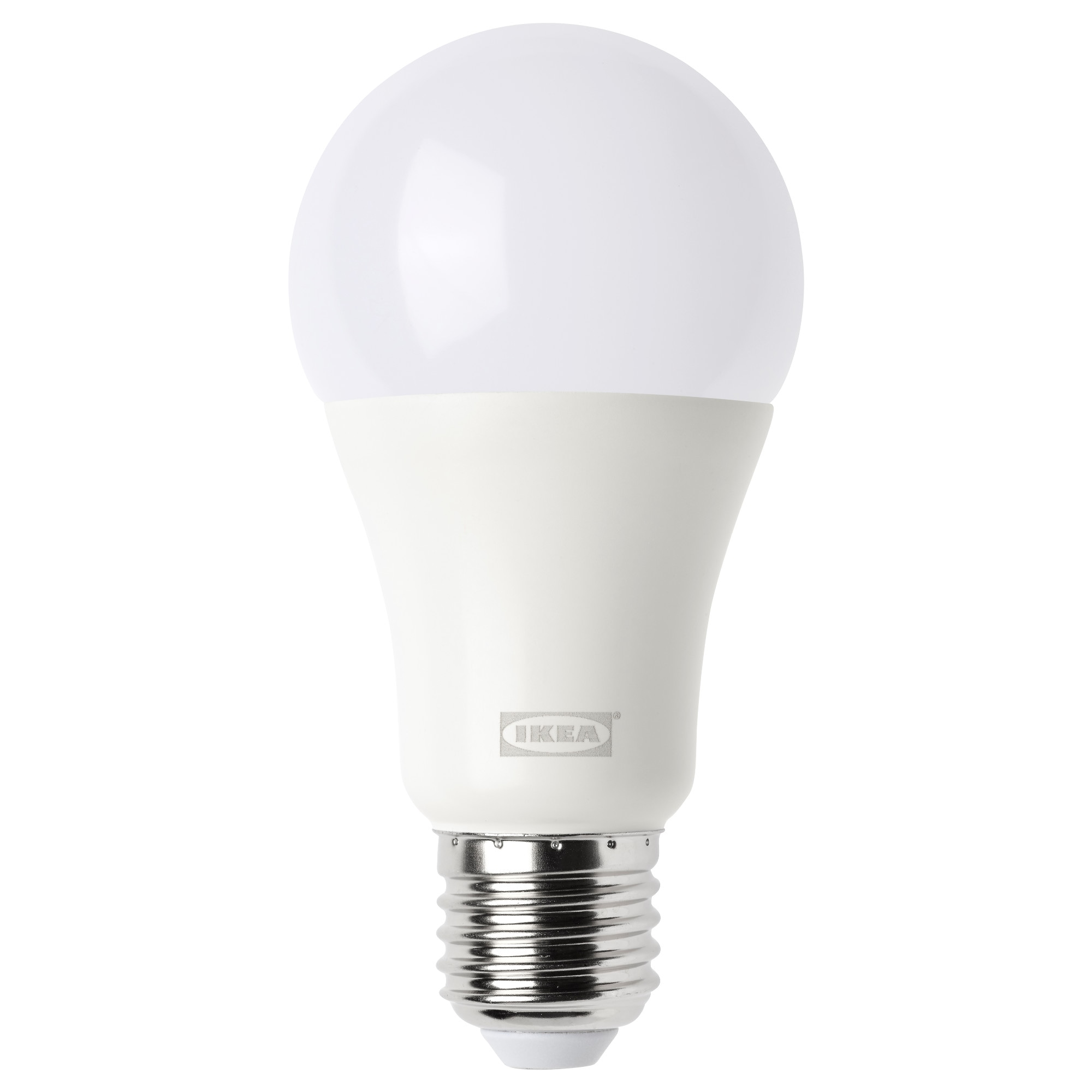 Ikea home smart beleuchtung led lampen kabellos dimmbar trdfri led lampe e27 1000 lm kabellos dimmbar rund warmes tageslicht opalwei standardlichtstrom parisarafo Choice Image