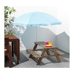 RESÖ Childrens Picnic Table IKEA - Teal picnic table