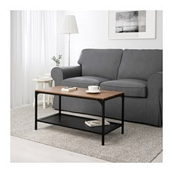 FJÄLLBO coffee table, black