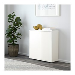 EKET Cabinet With 2 Doors And 2 Shelves, White