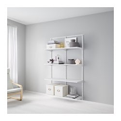 Superbe ALGOT Wall Upright/shelves, ...