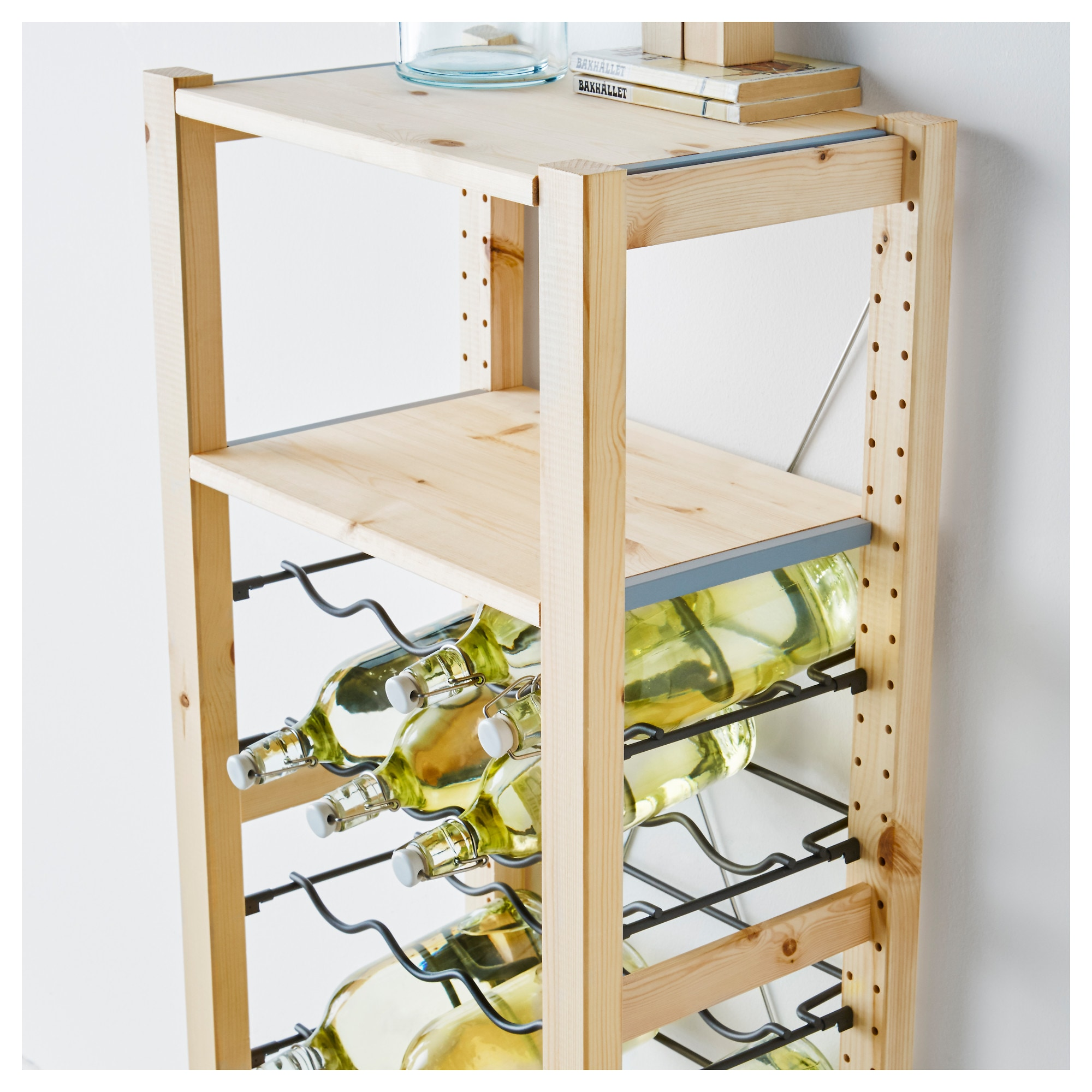Ivar 1 Sectionshelvesbottle Racks Ikea