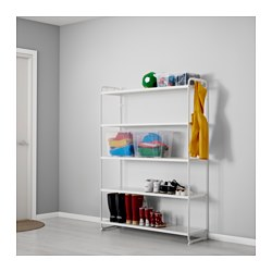 MULIG, Shelf unit, white