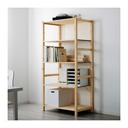 IVAR shelf unit, pine