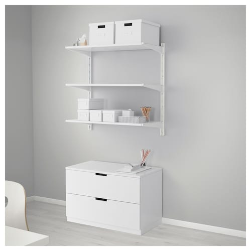 Algot System Wall Mounted Storage Ikea