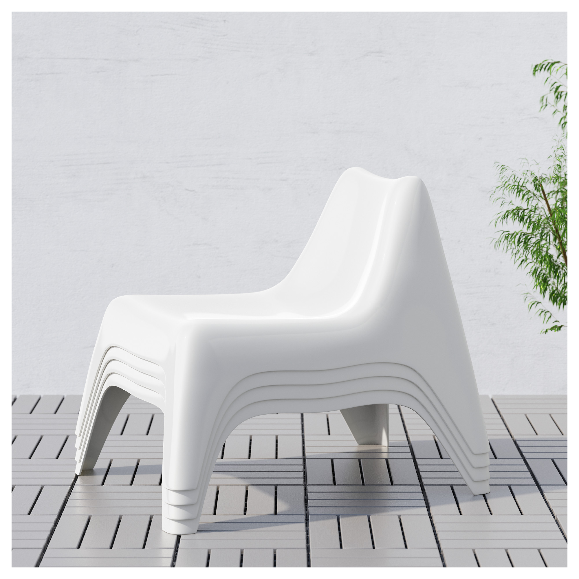 Fresh White Plastic Patio Chairs