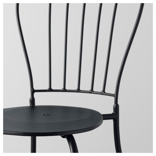 Lacko Chair Outdoor Gray Ikea