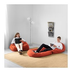 BUSSAN Beanbag In Outdoor Orange