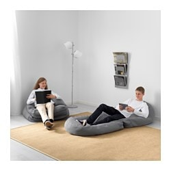 Bussan Beanbag In Outdoor Grey Ikea Family