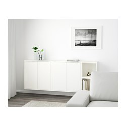 Eket Wall Mounted Cabinet Combination White