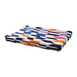 "SOMMAR 2017 beach towel, multicolor, dark lilac Length: 71 "" Width: 39 "" Surface density: 1.25 oz/sq ft Length: 180 cm Width: 100 cm Surface density: 380 g/m²"
