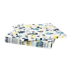 MÄRKVÄRDIG paper napkin, dotted Length: 33 cm Width: 33 cm Package quantity: 30 pieces