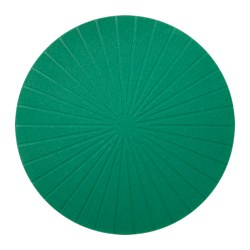 PANNÅ place mat, dark green Diameter: 37 cm