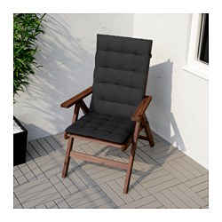 Incroyable ÄPPLARÖ Reclining Chair, Outdoor, Brown Foldable Brown Stained Brown