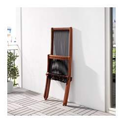 bromm chaise outdoor brown stained black brown - Chaise Table