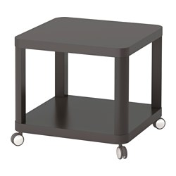 TINGBY Side table on casters $49.00