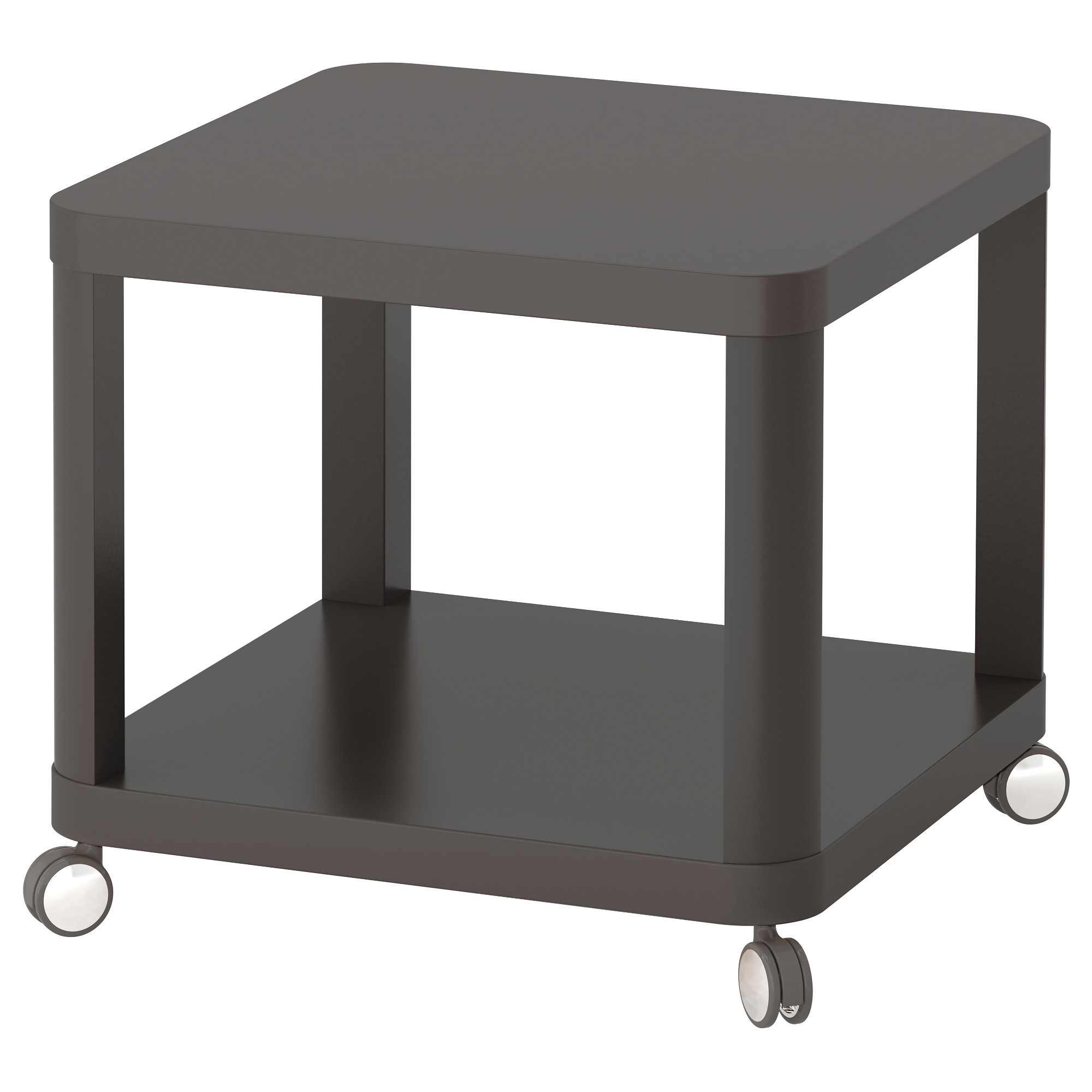 Ikea leksvik coffee table - Tingby Side Table On Casters Gray Length 19 5 8 Width