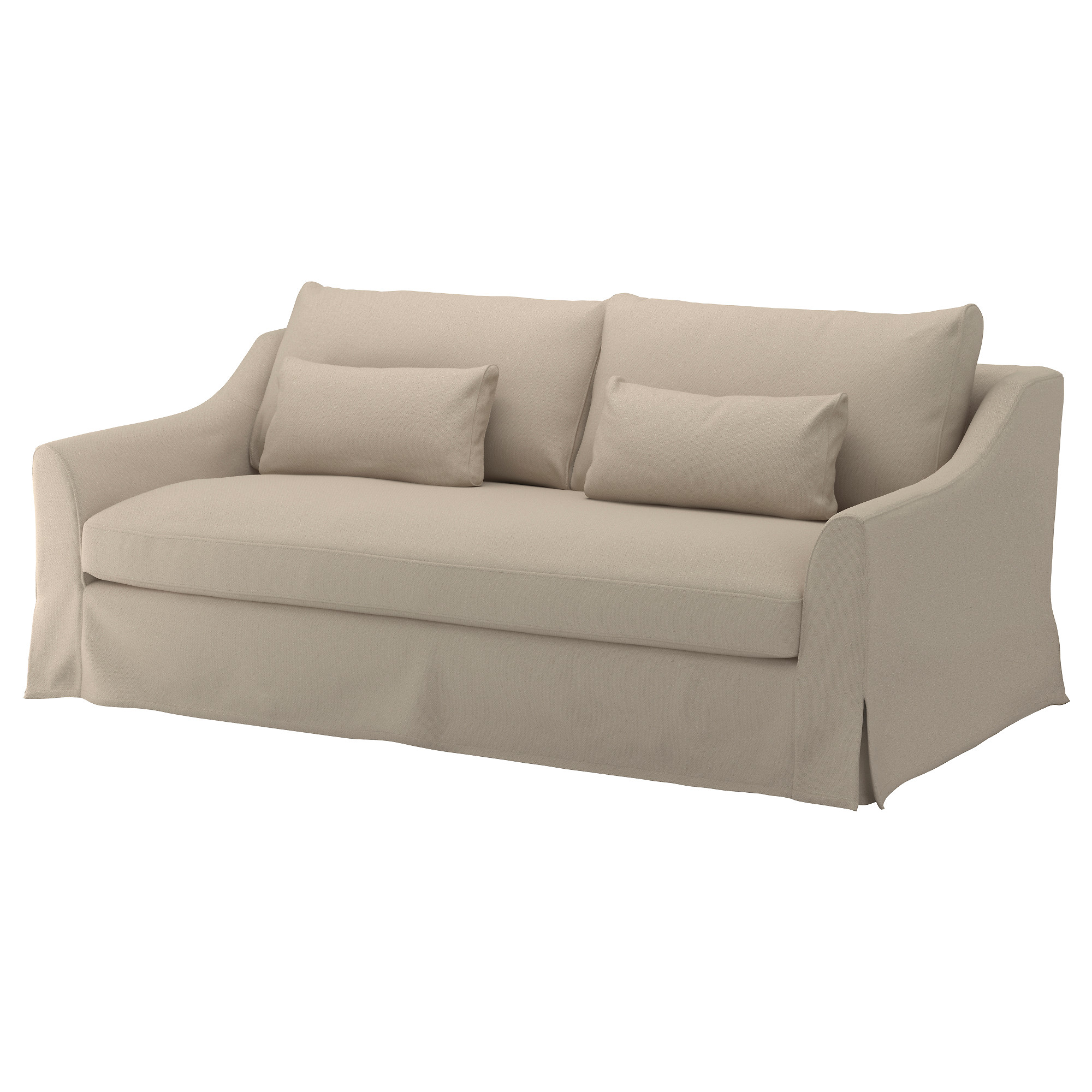 "F""RL–V Cover for sofa Flodafors beige IKEA"