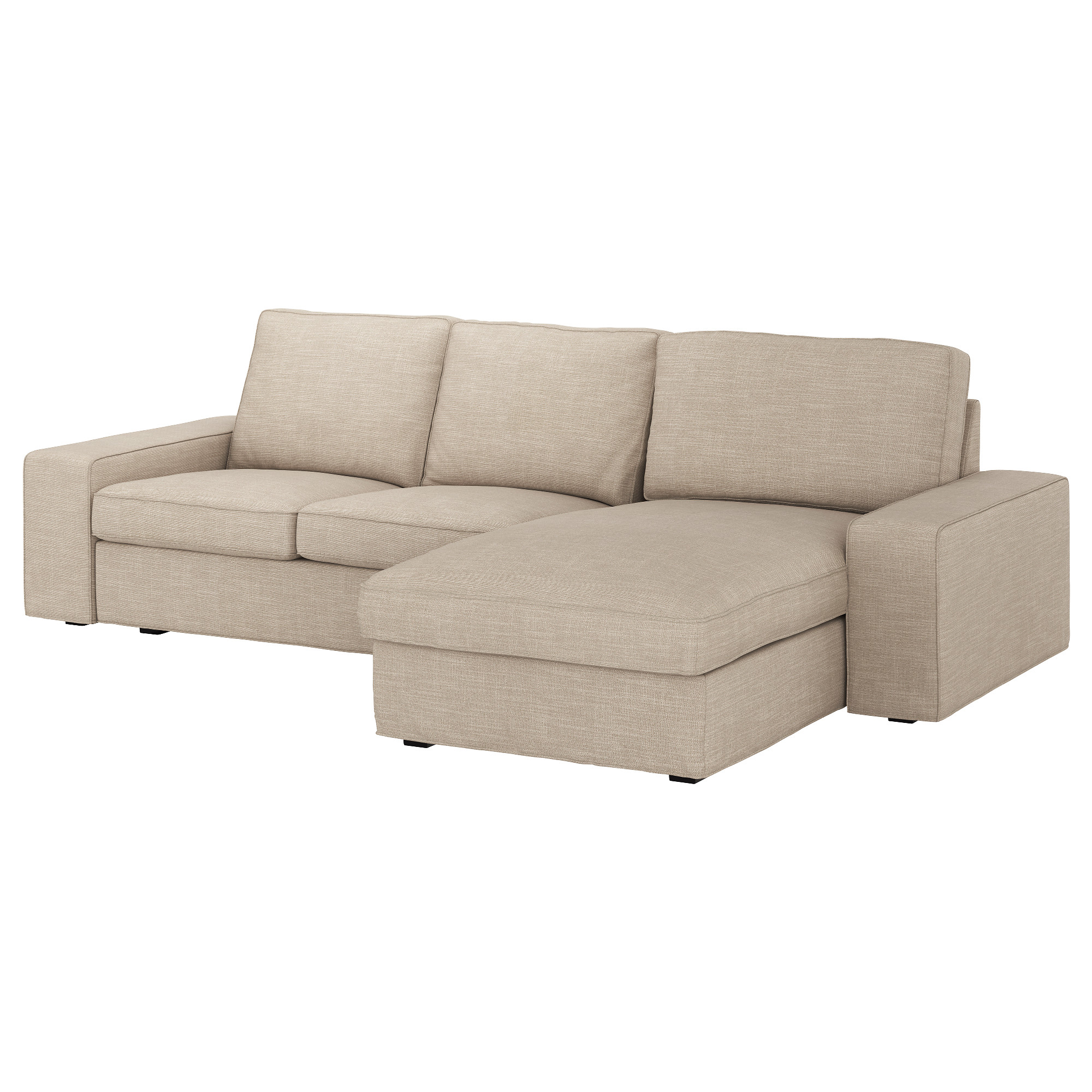 Kivik Sofa With Chaiseorrsta Light Gray Ikea