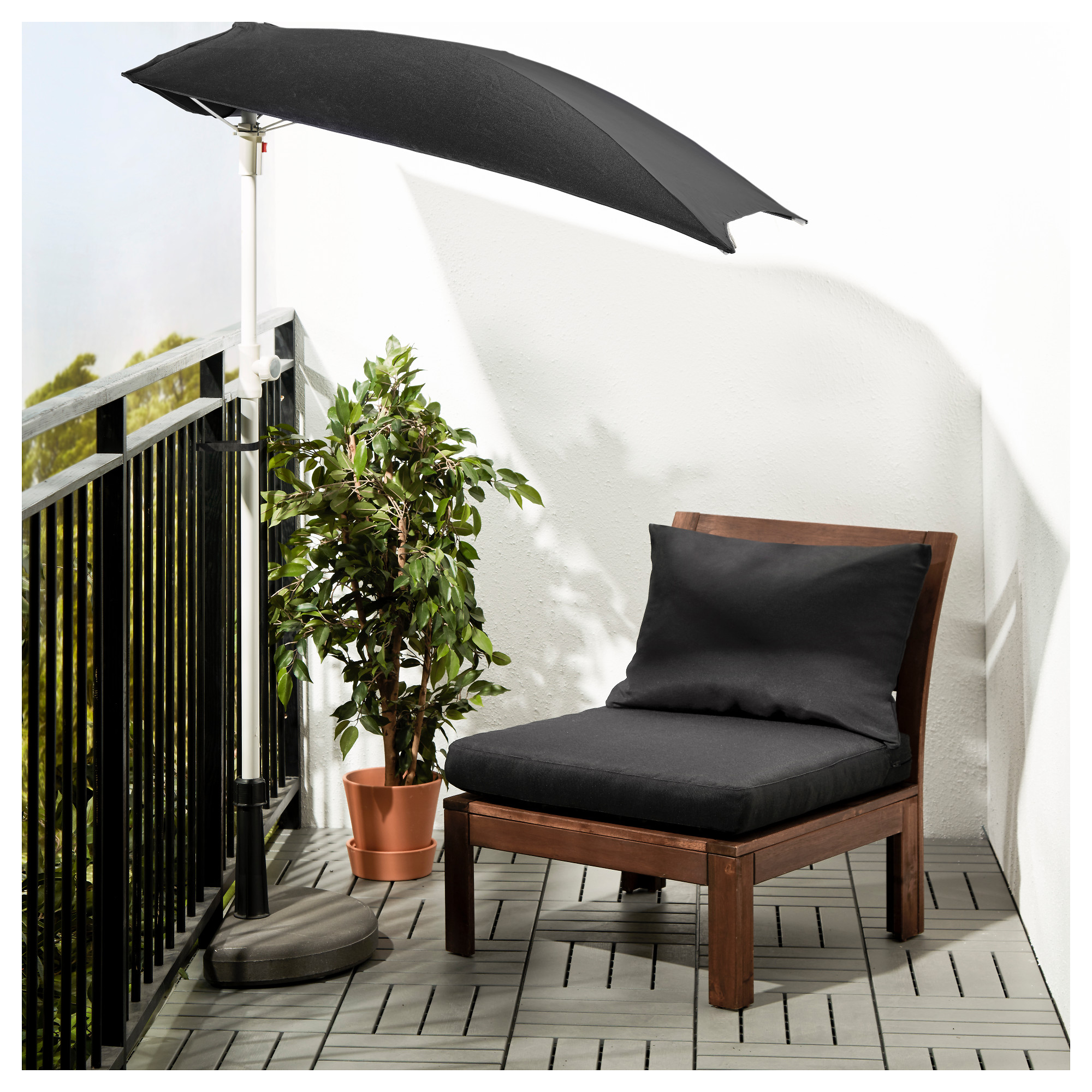 pplar chair with footstool outdoor brown stainedhll beige ikea - Bergroer Sessel Und Ottomane