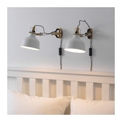 Elegant RANARP Wall/clamp Spotlight, Off White