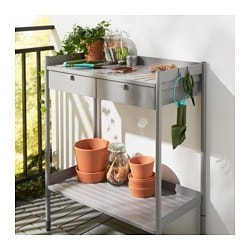 HINDÖ Potting Bench, Gray