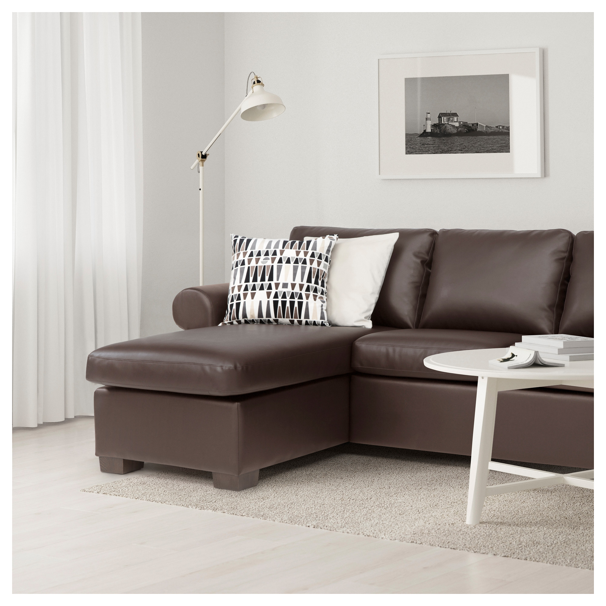 EKTORP Sofa   Kimstad Brown   IKEA