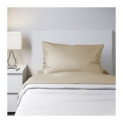 NATTJASMIN sheet set, beige Thread count: 310 /inch² Thread count: 310 /inch²