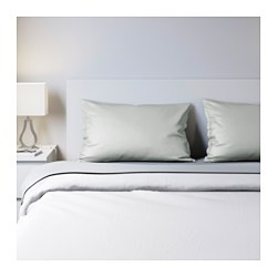 NATTJASMIN sheet set, light gray Thread count: 310 square inches Thread count: 310 square inches