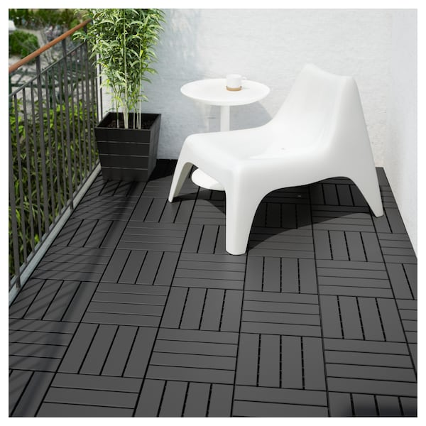 Floor Decking Outdoor Runnen Dark Grey