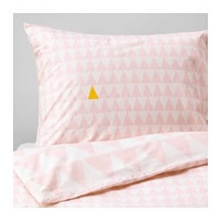 STILLSAMT quilt cover and pillowcase, light pink Thread count: 144 /inch² Quilt cover length: 200 cm Quilt cover width: 150 cm