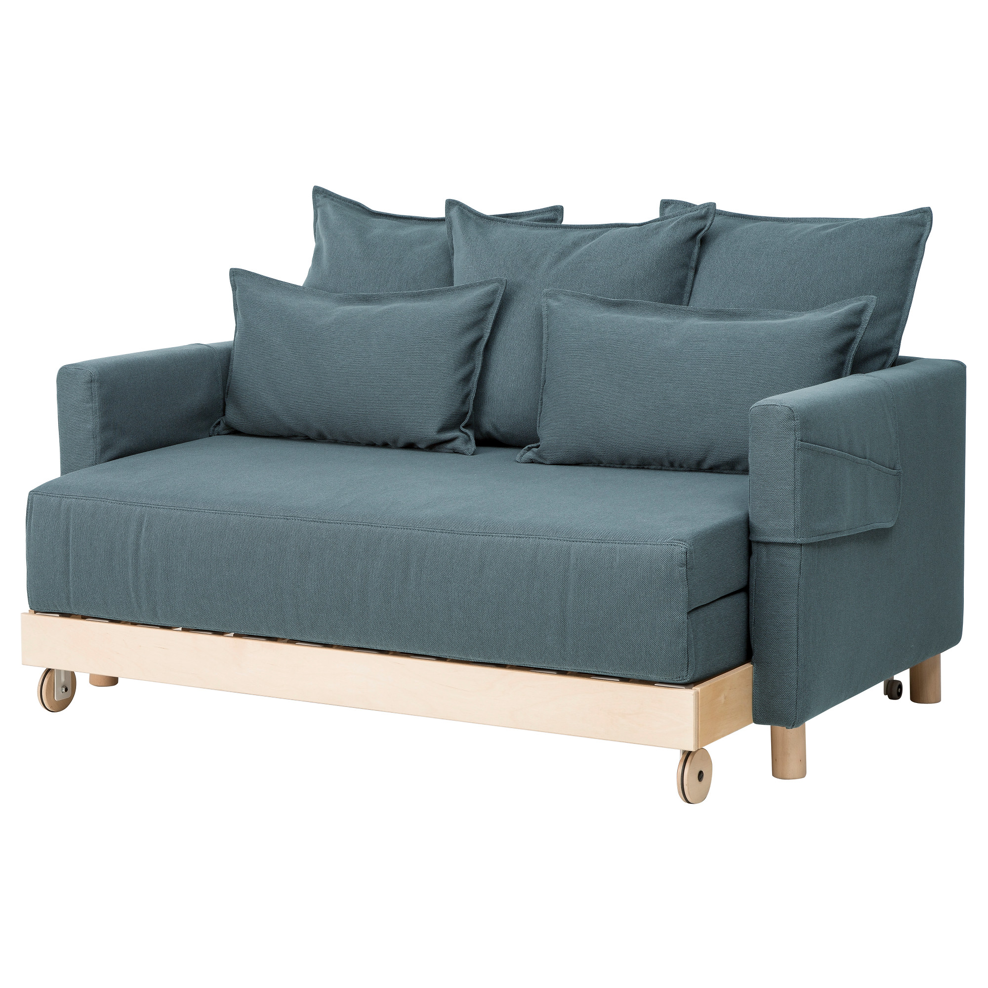 "ASKEN""SET Sofa bed Finnsta turquoise IKEA"