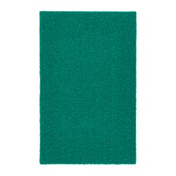 OPLEV door mat, in/outdoor green Length: 80 cm Width: 50 cm Area: 0.40 m²