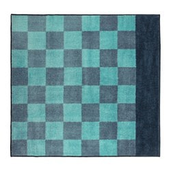 STILLSAMT rug, high pile, blue