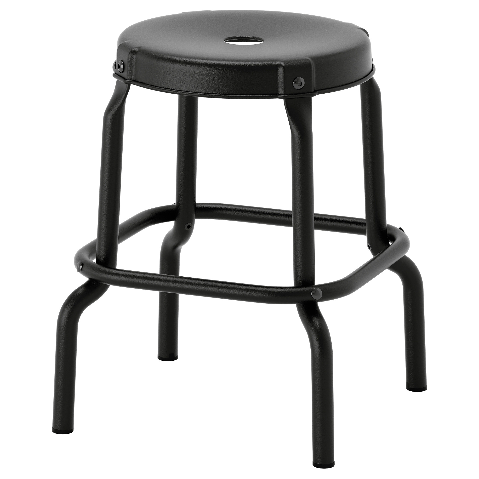 RSKOG stool, black Tested for: 220 lb Seat diameter: 11 3/4