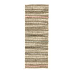 SODERUP rug, flatwoven, natural, multicolour