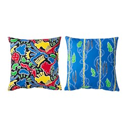 AVSIKTLIG cushion cover, assorted patterns Length: 50 cm Width: 50 cm