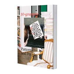 "AVSIKTLIG book, 10-Gruppen Patterns and people Pages: 224 pieces Width: 6 ¾ "" Height: 9 ½ "" Pages: 224 pieces Width: 17 cm Height: 24 cm"